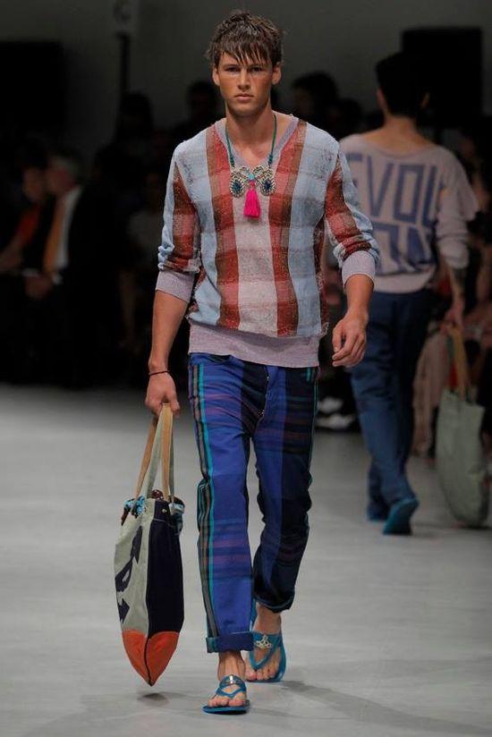 Vivienne Westwood Man Spring 2014.  Milan fashion week.