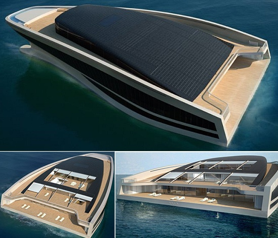 10,000 sq.ft of living space mega yacht design today, and wanted to share it. The yacht is called Wally Hermes Yacht WHY 58 x 38 (58 meters long, 38 meters wide), and it provides a luxurious home on the sea, complete with 10,000 sq.ft of living space.  The official website for the WHY yachts is located at www.why-yachts.com