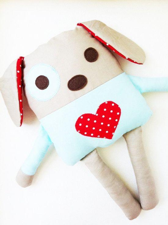 Toy Dog Sewing Pattern Dog Doll PDF by GandGPatterns on Etsy