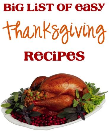 BIG List of Easy Thanksgiving Recipes! ~ from TheFrugalGirls.com ~ find loads of delicious, fun recipes for your Thanksgiving menu! #holiday #recipe #thefrugalgirls