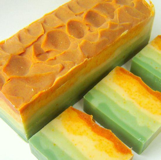 PEYOTE  Citrus Sage Artisan Soap / Cold Process by SoapForYourSoul, $6.75