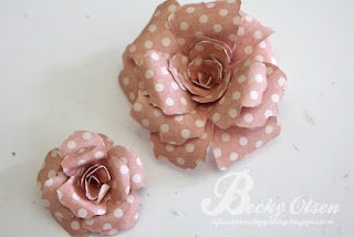 Large Handmade Rose Tutorial