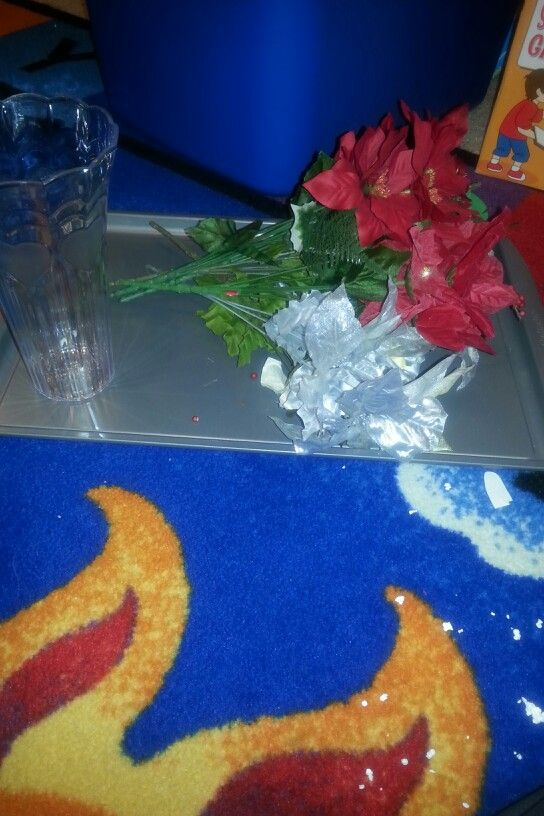 Montessori flower arranging
