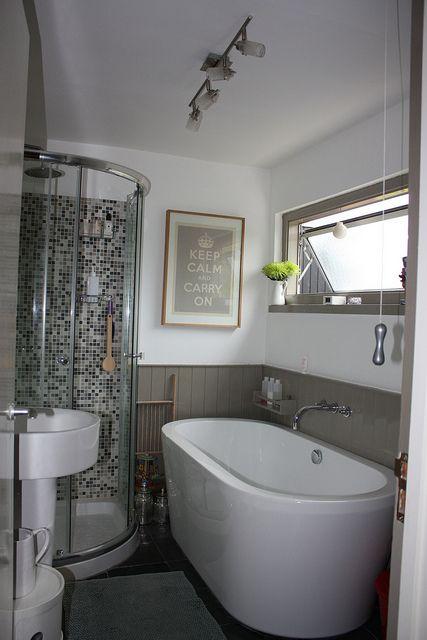 Tile design in shower