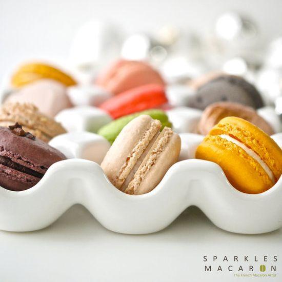 Om nom nom! 48 Assorted Macarons, $50.40