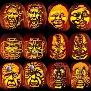 Pumpkin Carving Tattoo Patterns Villafane Party Pack