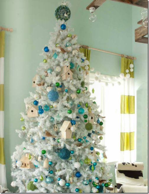 Christmas tree by @Emily Schoenfeld henderson. #green #blue #holiday