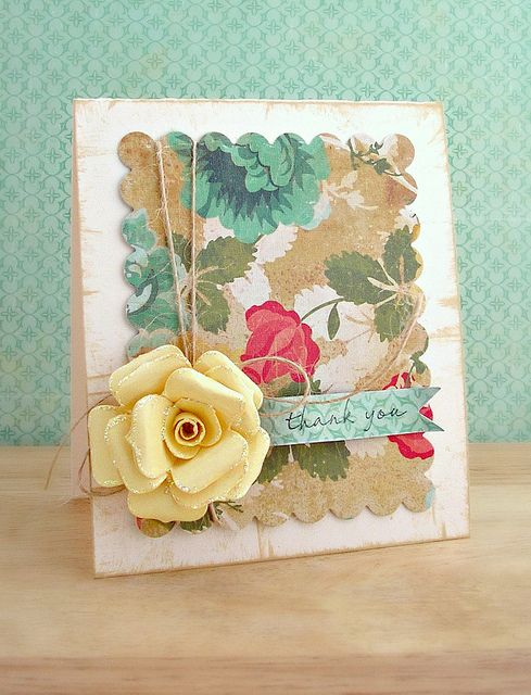 love everything about this card, that rose...