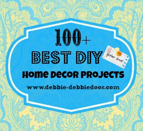 100+ round up of the best #diy projects