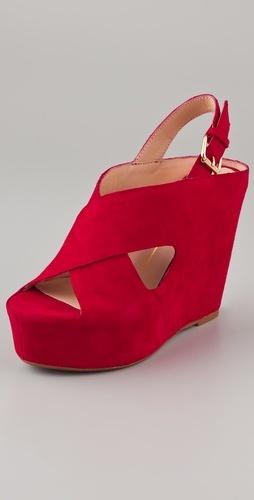 Dolce Vita Julie Suede Platform Sandals