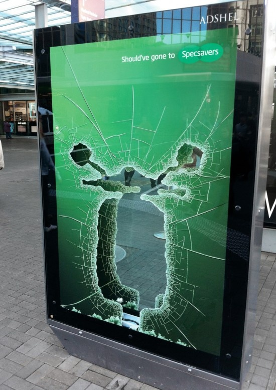 outdoor ad.
