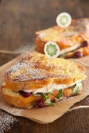 Turkey Cranberry Monte Cristo