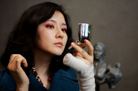 Lee Yeong-ae in Sympathy for Lady Vengeance