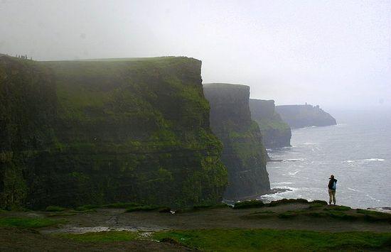 Cliffs of Moor in Ireland