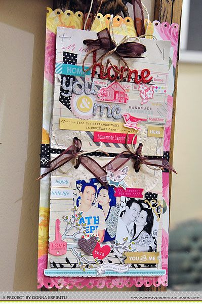 Home is you and me - Scrapbook.com