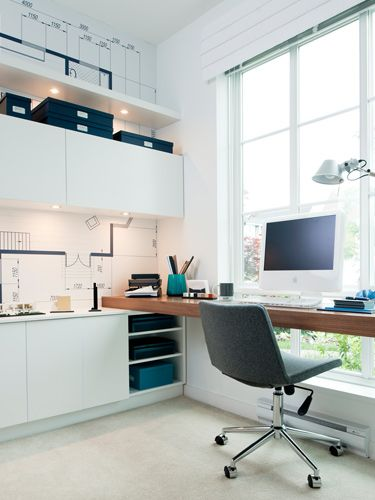 great use of small office space