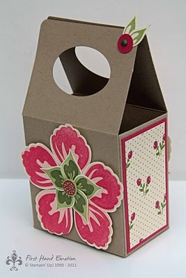 Stampin' UP! Build a Blossom