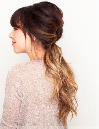 10 easy spring hair-dos