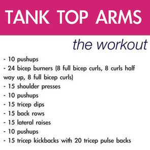 Arm workout of the night