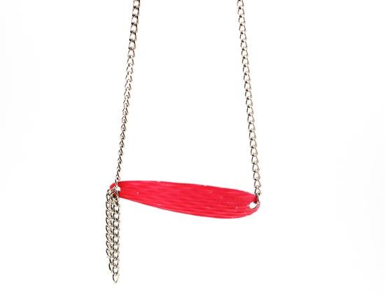 Fishing lure necklace #catch #dopefruit #jewelry #handmade