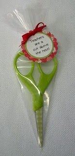 Cute idea for teacher appreciation