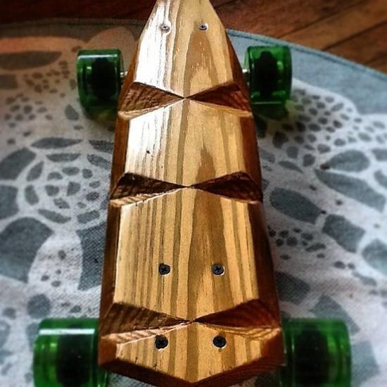 #Skateboard #longboard #etsy #handmade  wooden longboard
