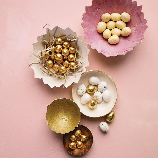 How to make a Cracked Paper Eggshell Dish