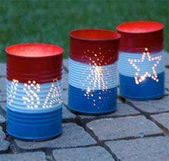 fourth of july lantern