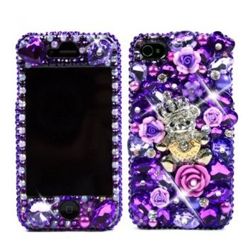 Purple Bling iPhone cases