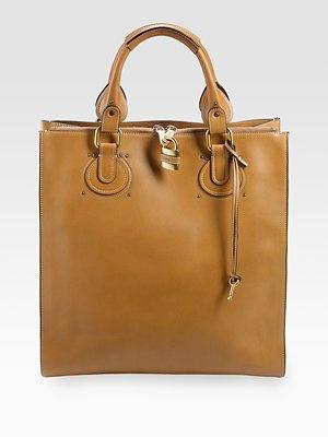 Chloé  Aurore Leather Tote