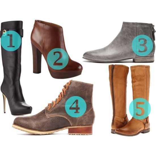 The 5 boots you should be wearing this Fall by @petit_elefant