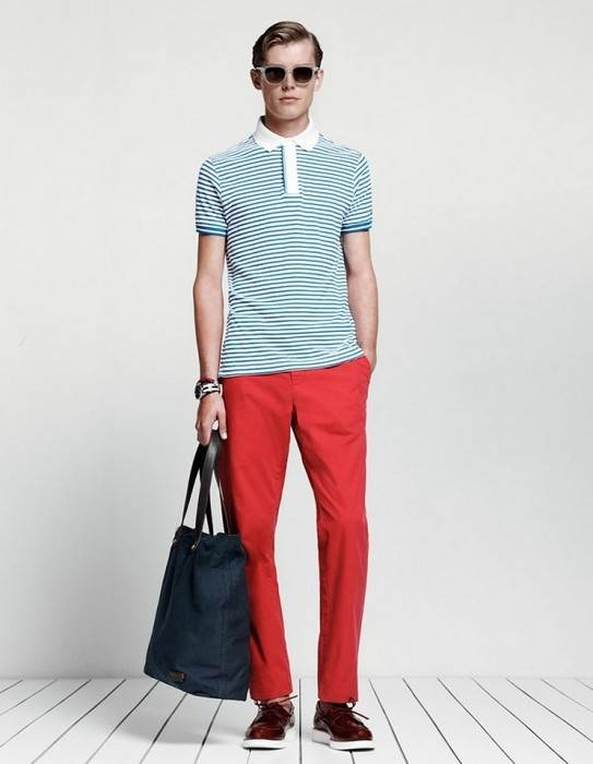 Tommy Hilfiger Mens Spring-Summer 2013 Lookbook-Sportswear but Luxury ~ Men Chic- Men's Fashion and Lifestyle Online Magazine