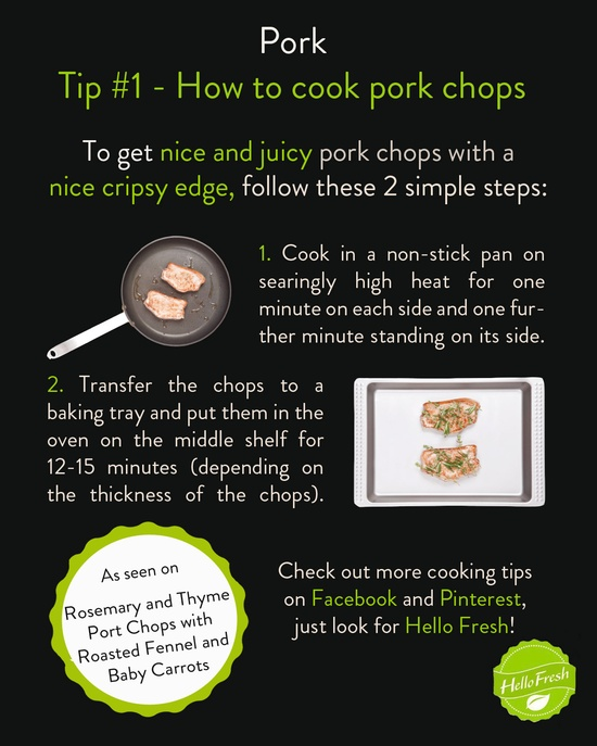 How to Cook Pork Chops #cooking #tip