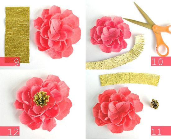 DIY: Crepe Paper Flowers « oh my! handmade goodness