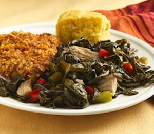 Turn leftover collard greens into four healthy dinners. Get the recipe: www.recipe.com/...