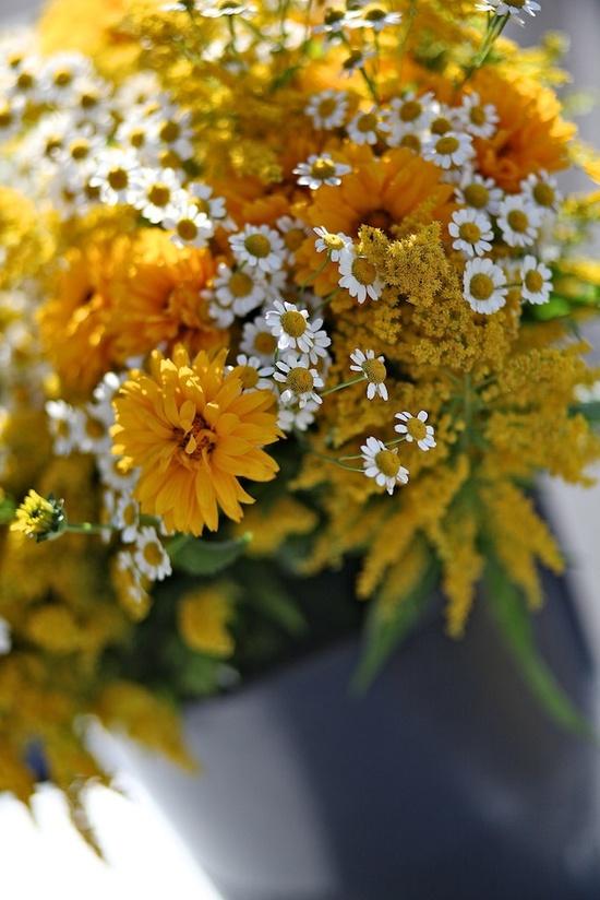 Summer Flower Bouquet - Flower Photography - Kitchen Art - Farmers Market - Gardening