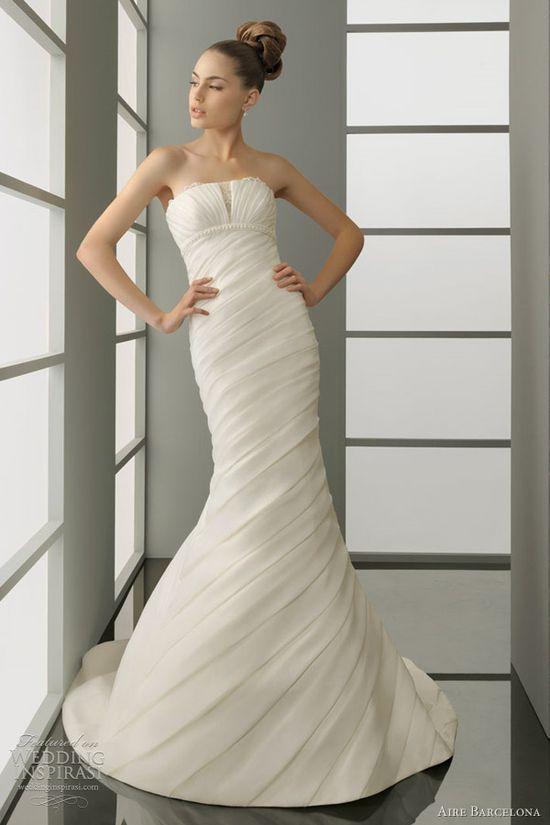 2012 aire barcelona wedding dresses