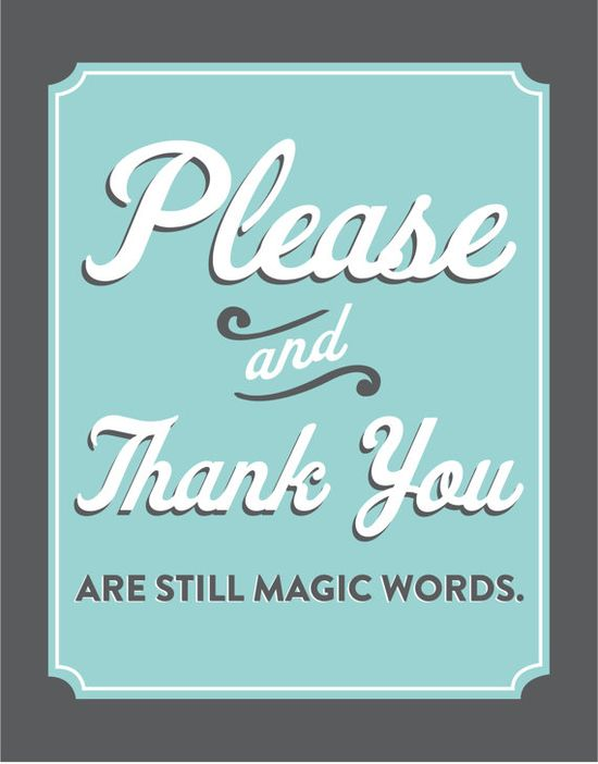 2 little magic words....