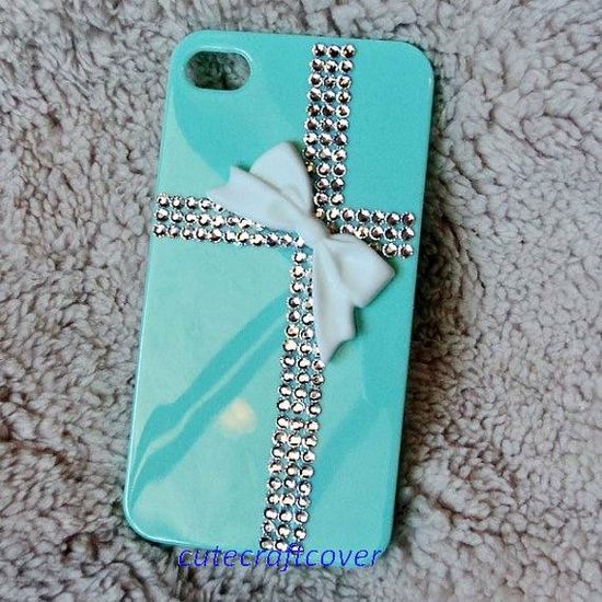 cute iphone4 case, iPhone 4s iPhone 5 bling crystals case, white bow iPhone case, iPhone cover, cute galaxy s4 case, cross bling phone cover