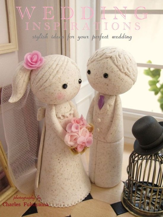 Special Edition----LOVE ANGELS Wedding Cake Topper-love couple with sweet heart base