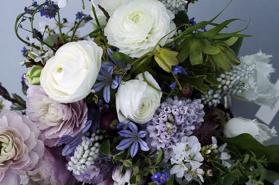 lavender and white; photo via Little Flower School