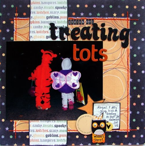 {Trick or} Treating Tots