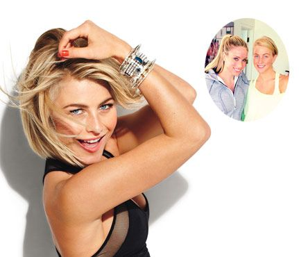 Steal Julianne Hough's Firming Moves!  Hough's trainer shows you the 20-minute workout that firms every inch.