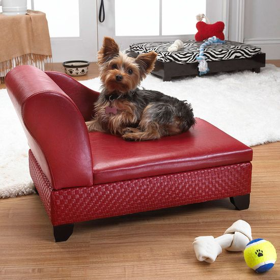 Pet Storage Pet Bed In Red.
