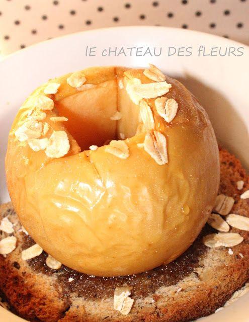 """""""Isabelle Thornton"""" Le Chateau des Fleurs: Healthy dessert: baked apple recipe"""