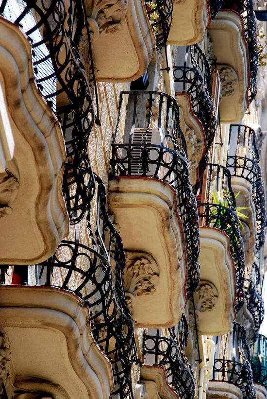 Amazing! Barcelona, Spain Balcony by Footomch