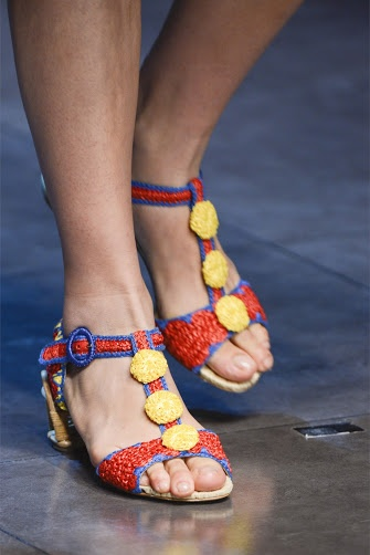 Outstanding Crochet: More crochet shoes from D SS 2013