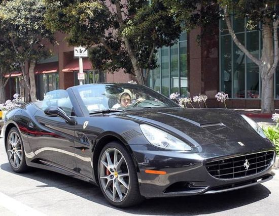 See Harry Styles Luxury Car Collection #FerrariCalifornia
