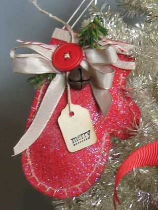 Christmas Mittens - Stuff and gift as a gift. . . gift card and M'S?