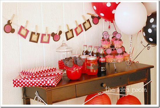 Another Minnie Mouse Party